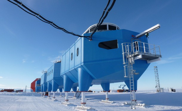 В Антарктиде будут построены наземные российские станции ГЛОНАСС