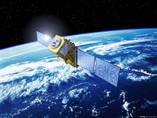 Спутник системы Galileo (фото ESA)