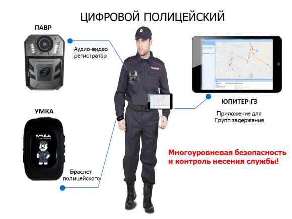 АО «ГЛОНАСС» представил «Цифрового полицейского»