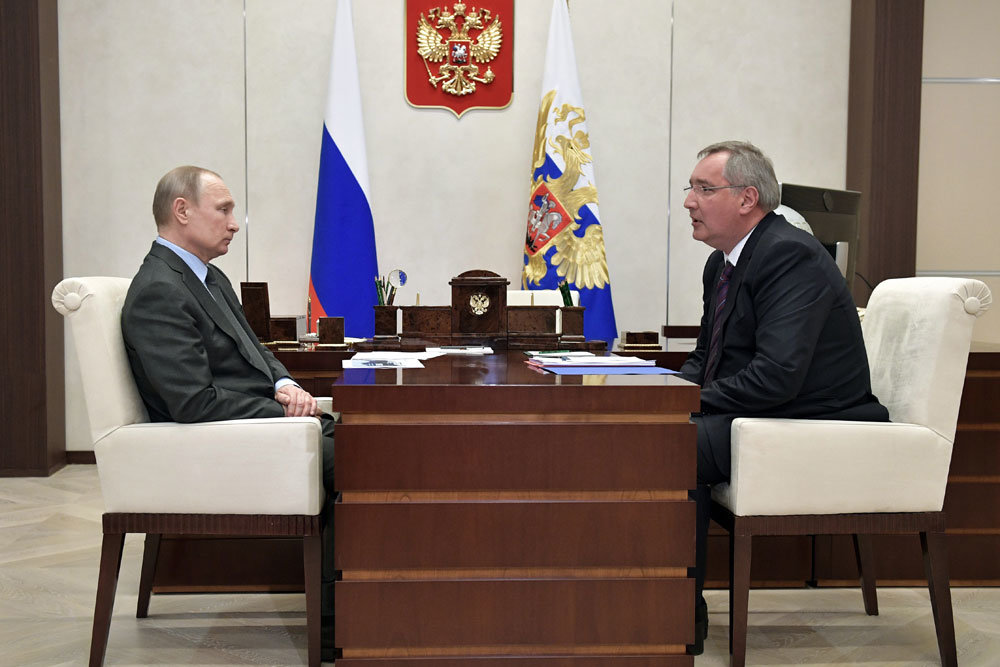 Владимир Путин обсудил с Дмитрием Рогозиным будущее ГЛОНАСС